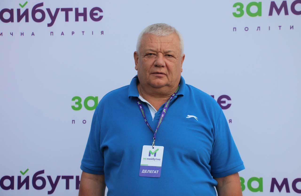 В.о. старости Надержинщинської сільради Григорій Варава