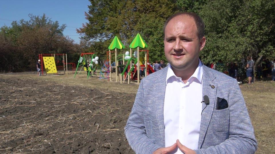 Представник Департаменту регіонального розвитку Укргазвидобування Віталій Чудак