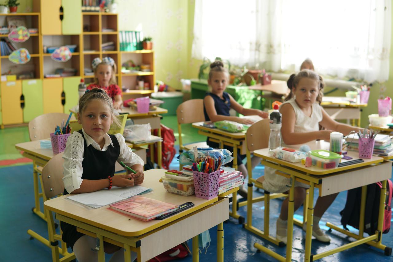 Дітям у Василівській школі стало затишніше вчитися