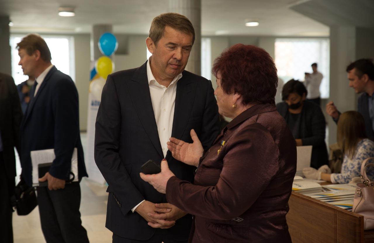 Олег Кулініч та Тетяна Корост