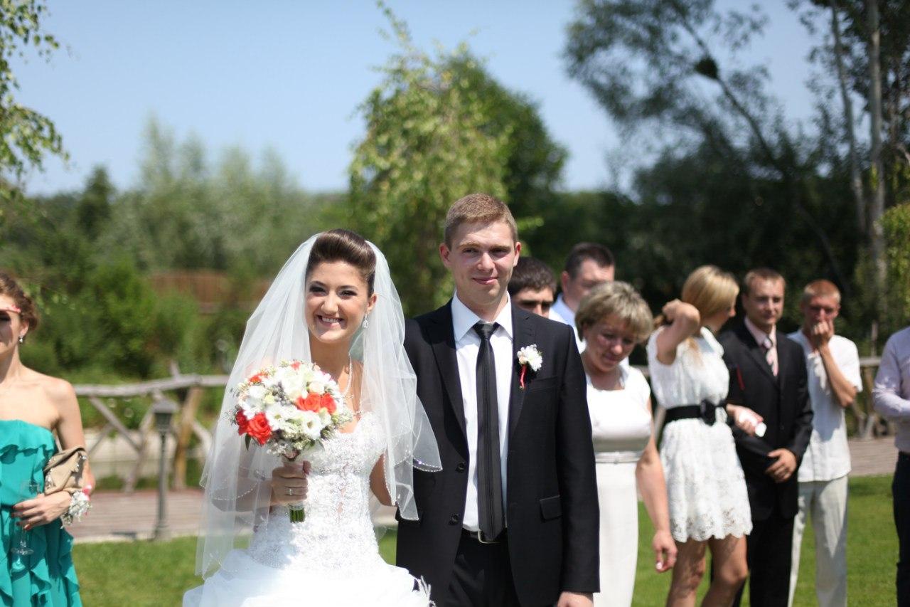 Весілля Ганни та Євгена Корнієнка