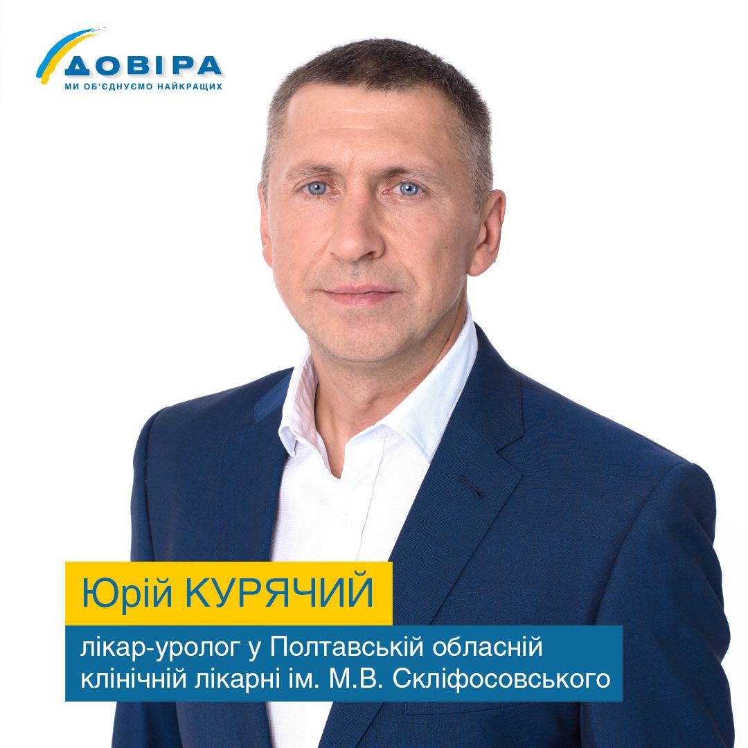 Лікар Юрій Курячий
