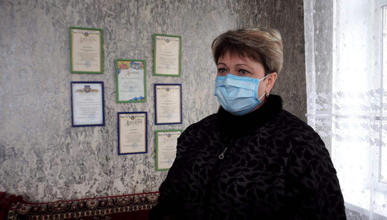 Секретарка Тарасівської сільради Людмила Стеценко
