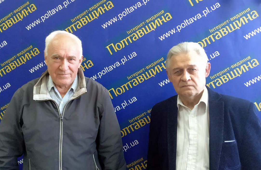 Валентин Шаповал та Олександр Катрушов