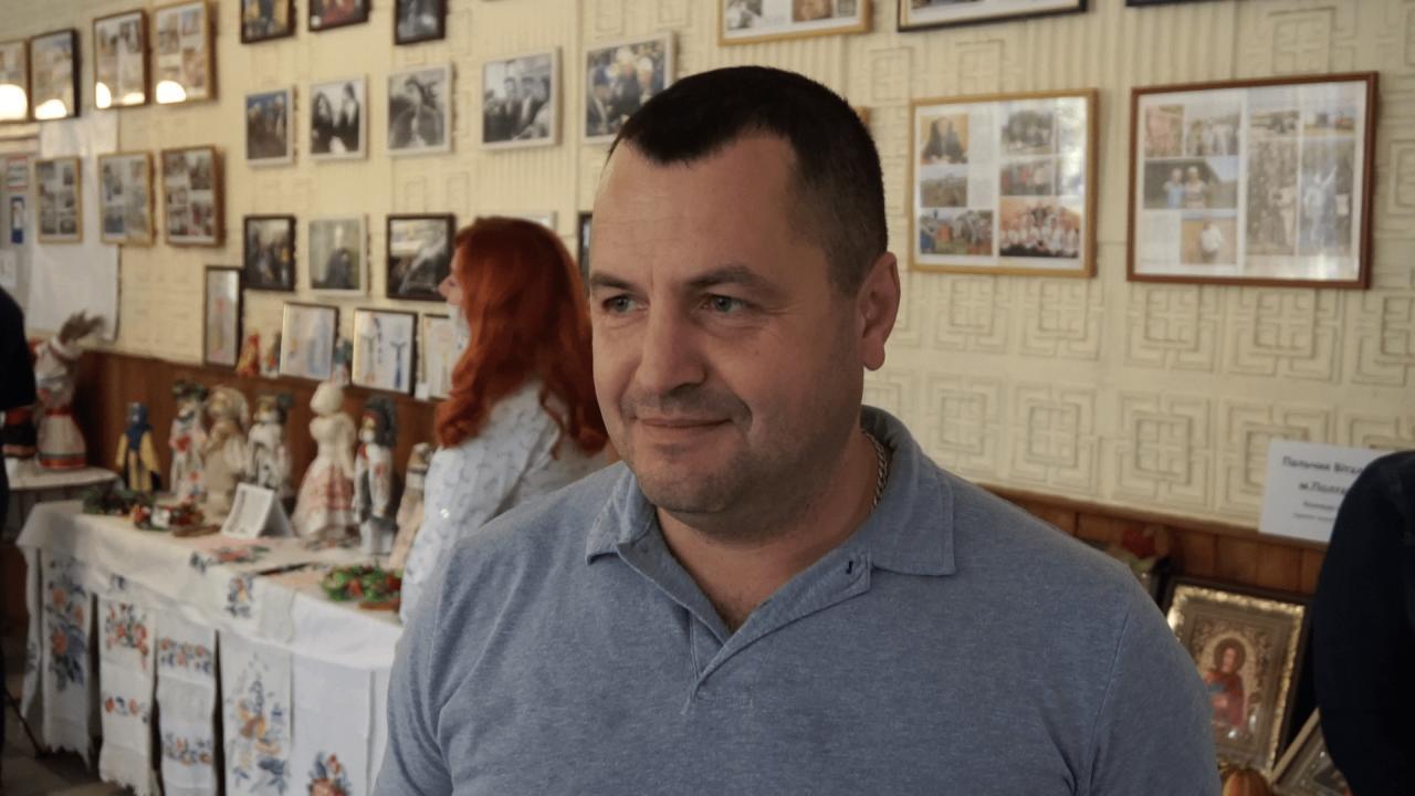 Кандидат у депутати Щербанівської сільської ради Валентин Грабко