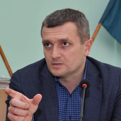 Заступник міського голови Полтави Олексій Чепурко