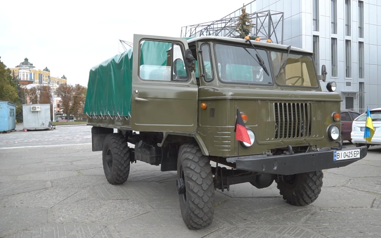 ГАЗ-66 ремонтували 1,5 роки в автотранспортному КП Полтавської обласної ради