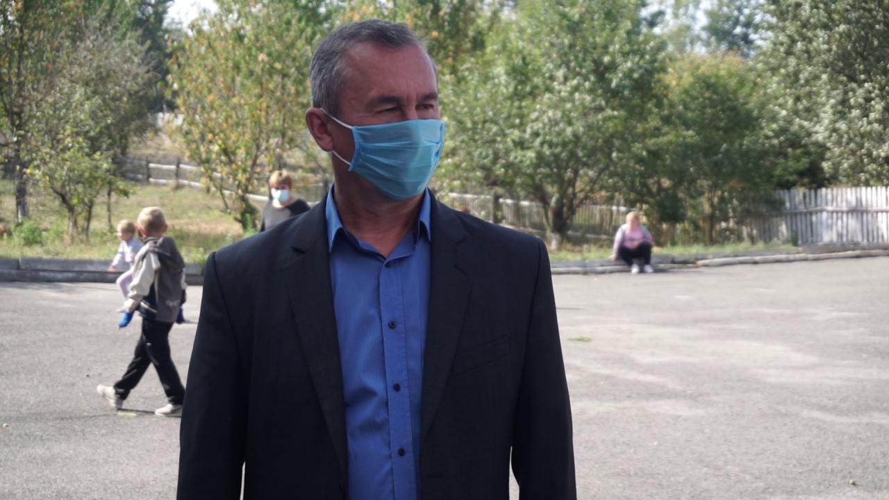 Голова Зуївцівської сільради Сергій Кобзій