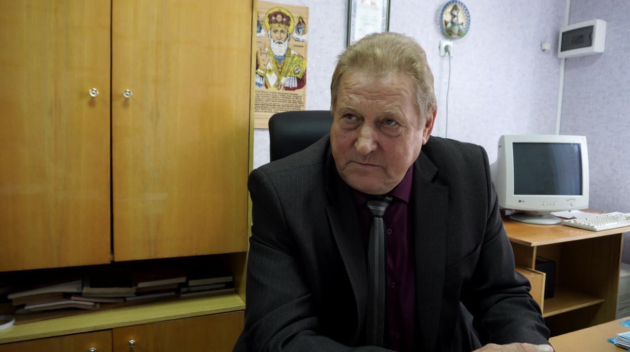 Директор Лютенківської ЗОШ І-ІІІ ступенів Володимир Шаповал