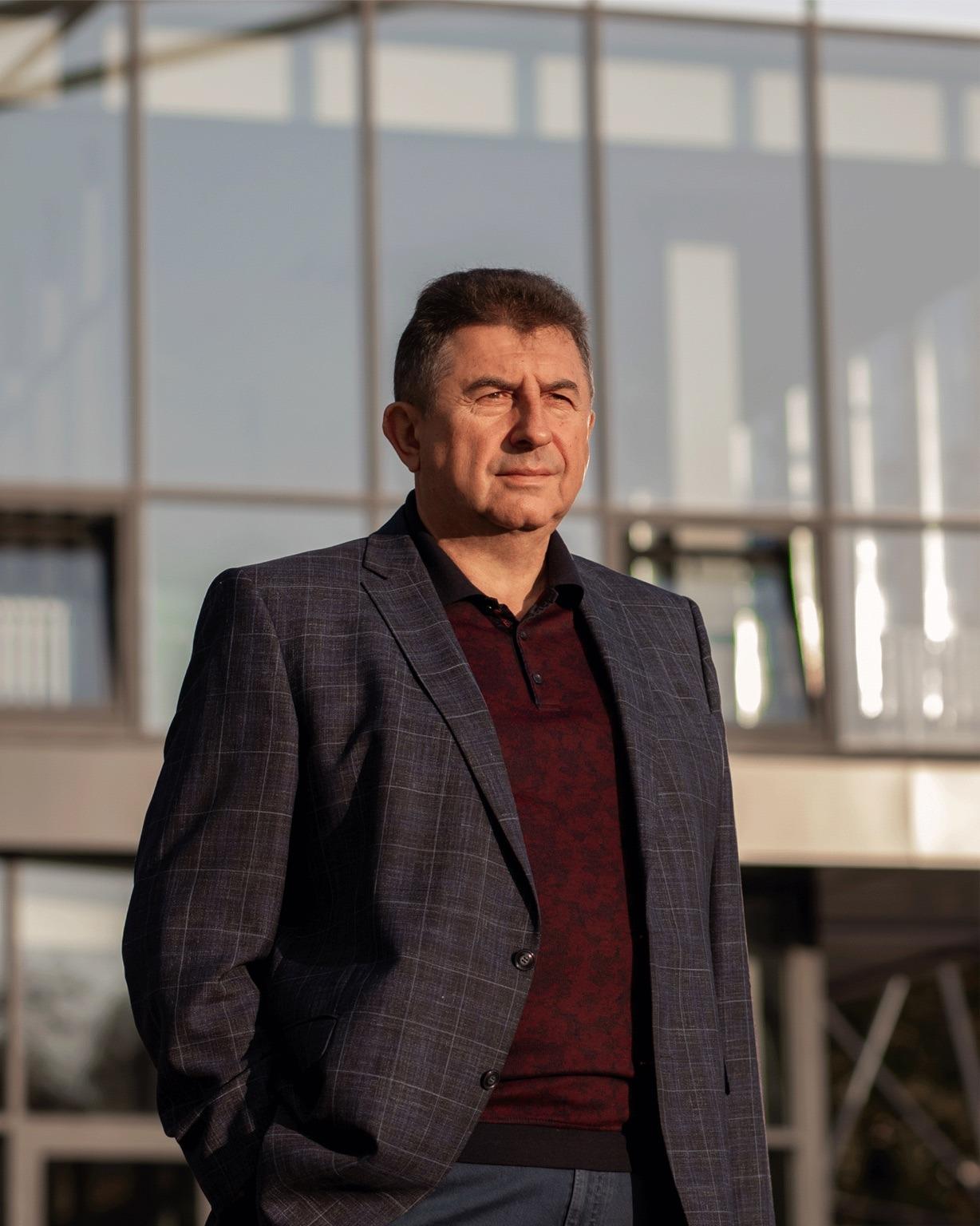 Лідер партії «Рідне місто» Олександр Удовіченко