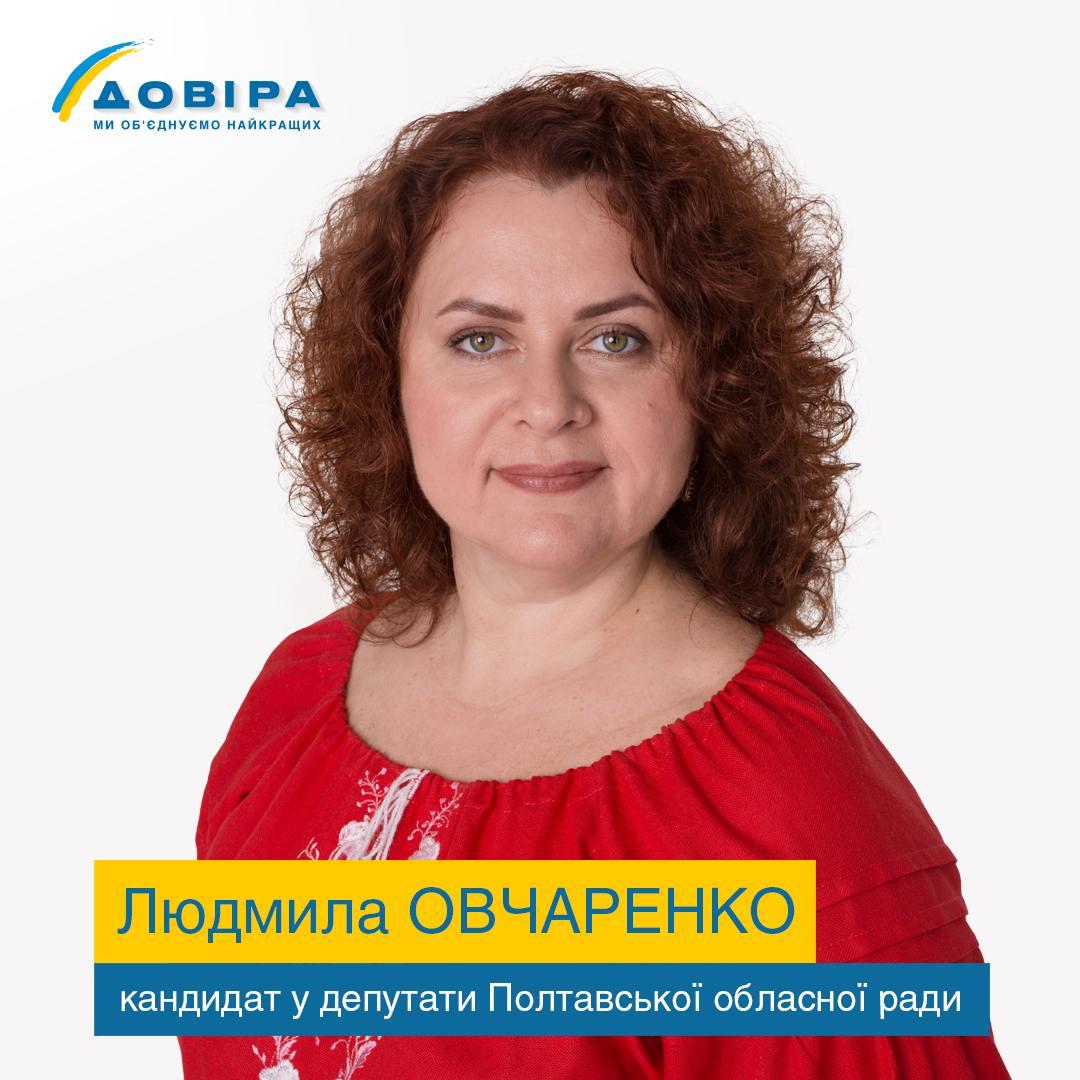 Людмила Овчаренко