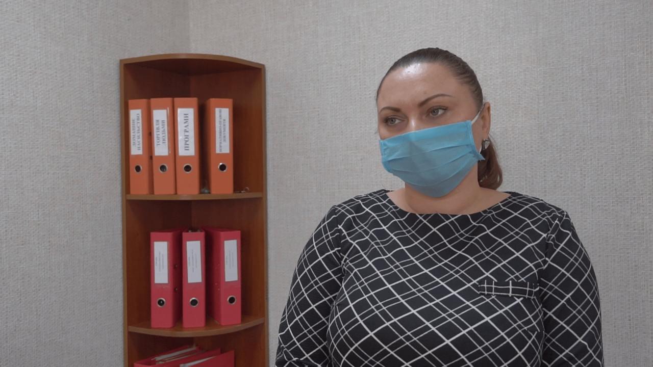 Начальниця відділу соцзахисту населення Мачухівської ОТГ Оксана Старокожко