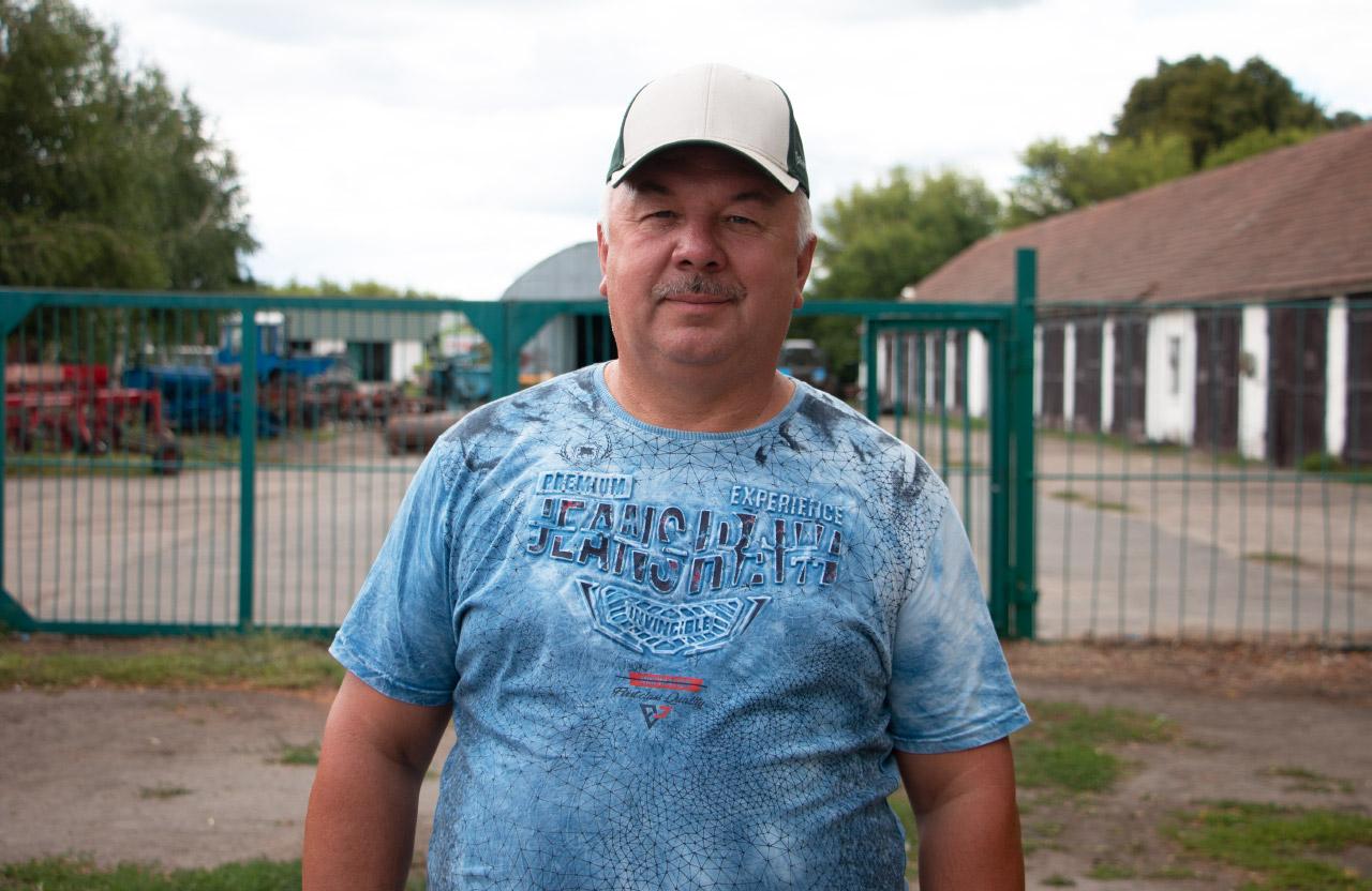 Голова ФГ «Грига» Володимир Грига