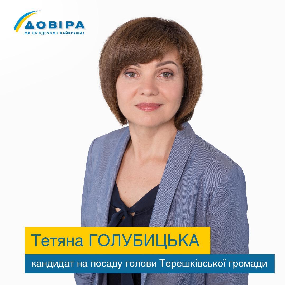 Тетяна Голубицька