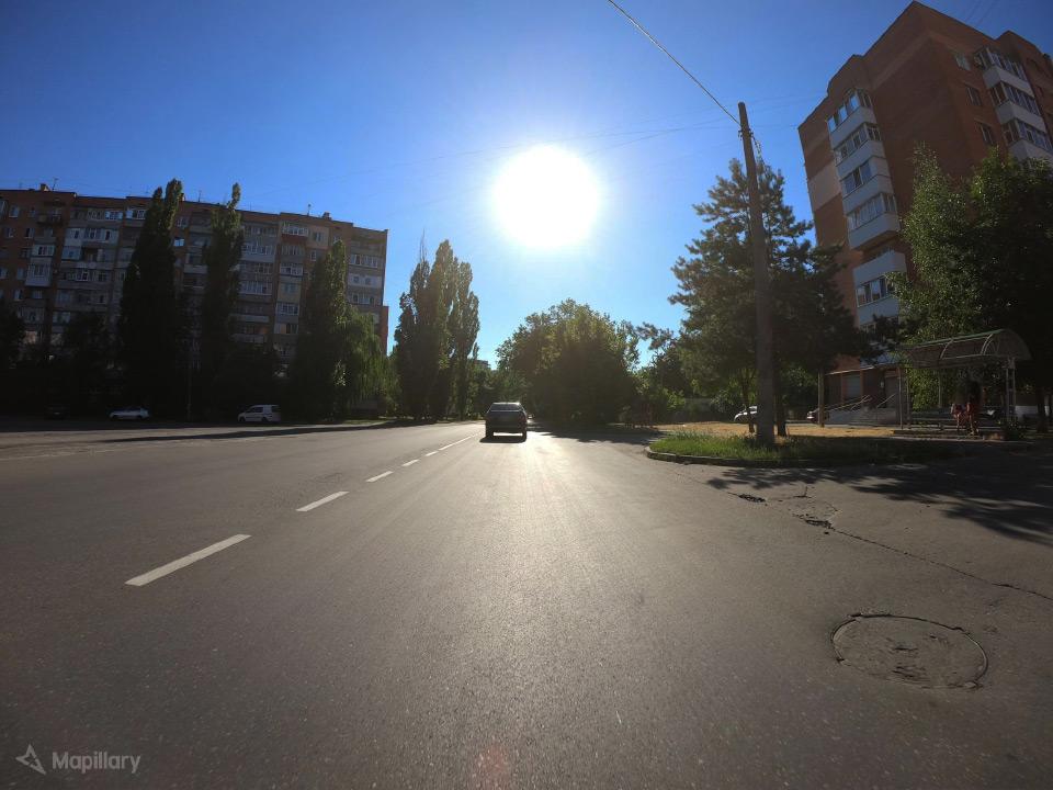 Орієнтовне місце ДТП на вул. Панянка