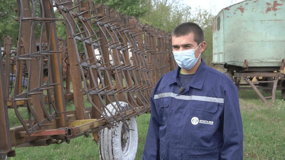Інженер сервісного обслуговування сг техніки агрофірми «Добробут» Олександр Сірик