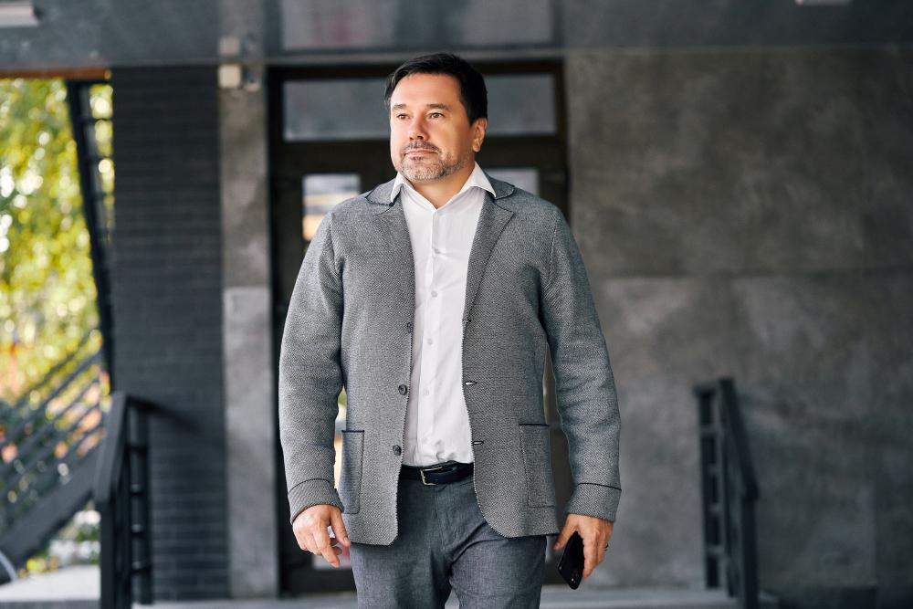 Кандидат у депутати Полтавської облради від партії  «За Майбутнє» Олександр Ващенко
