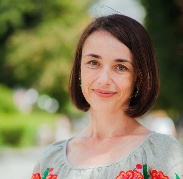 Кандидатка до Кременчуцької районної ради від партії «За Майбутнє» Ольга Усанова