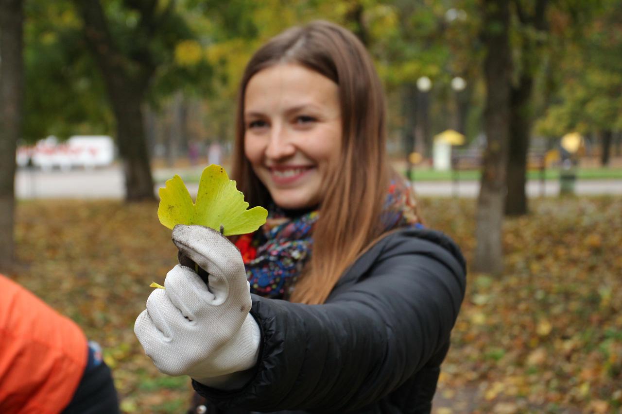 Катерина Бабіч — заступниця директора парку «Перемога» та кандидатка в депутати міськради від «Слуги Народу»