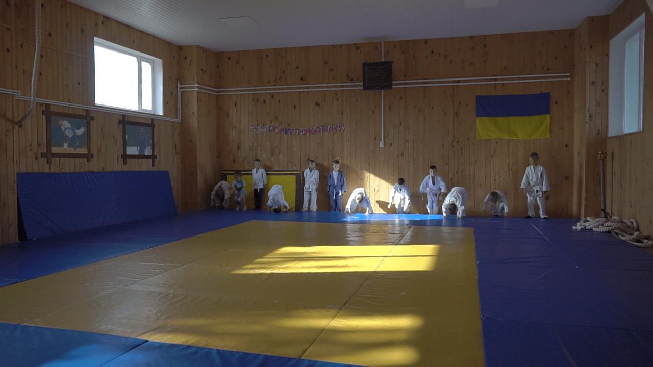 Шкільну котельню у Кобеляках переобладнали під спортивний зал для занять дзюдо