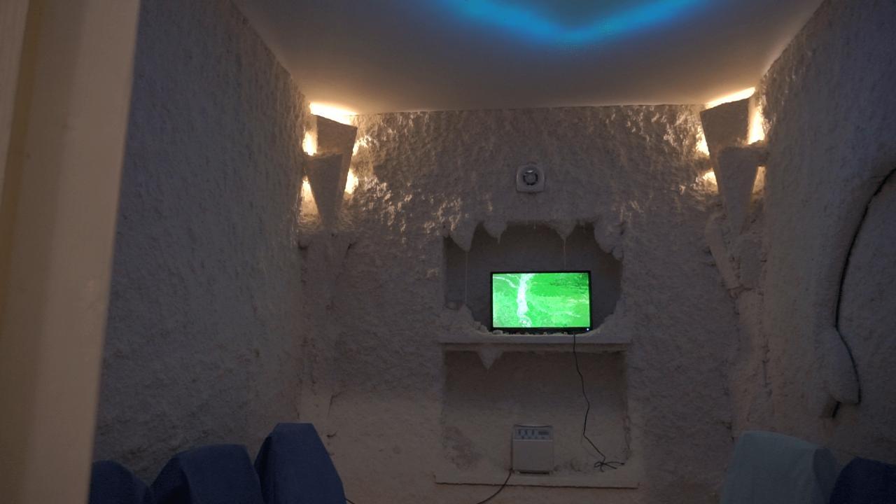 Соляна кімната у Кобеляцькій ЦРЛ