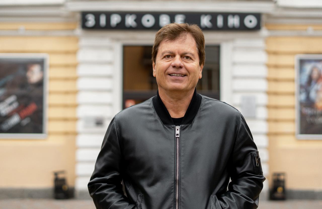 Засновник всеукраїнської мережі кінотеатрів Wizoria Андрій Соколов