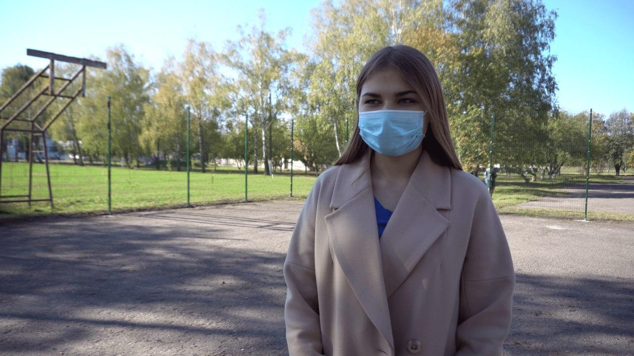 Учасниця «Підйому», учениця 10 класу Яна Бабич