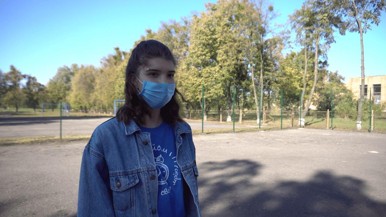 Учасниця «Підйому», учениця 11 класу Римма Саркісян