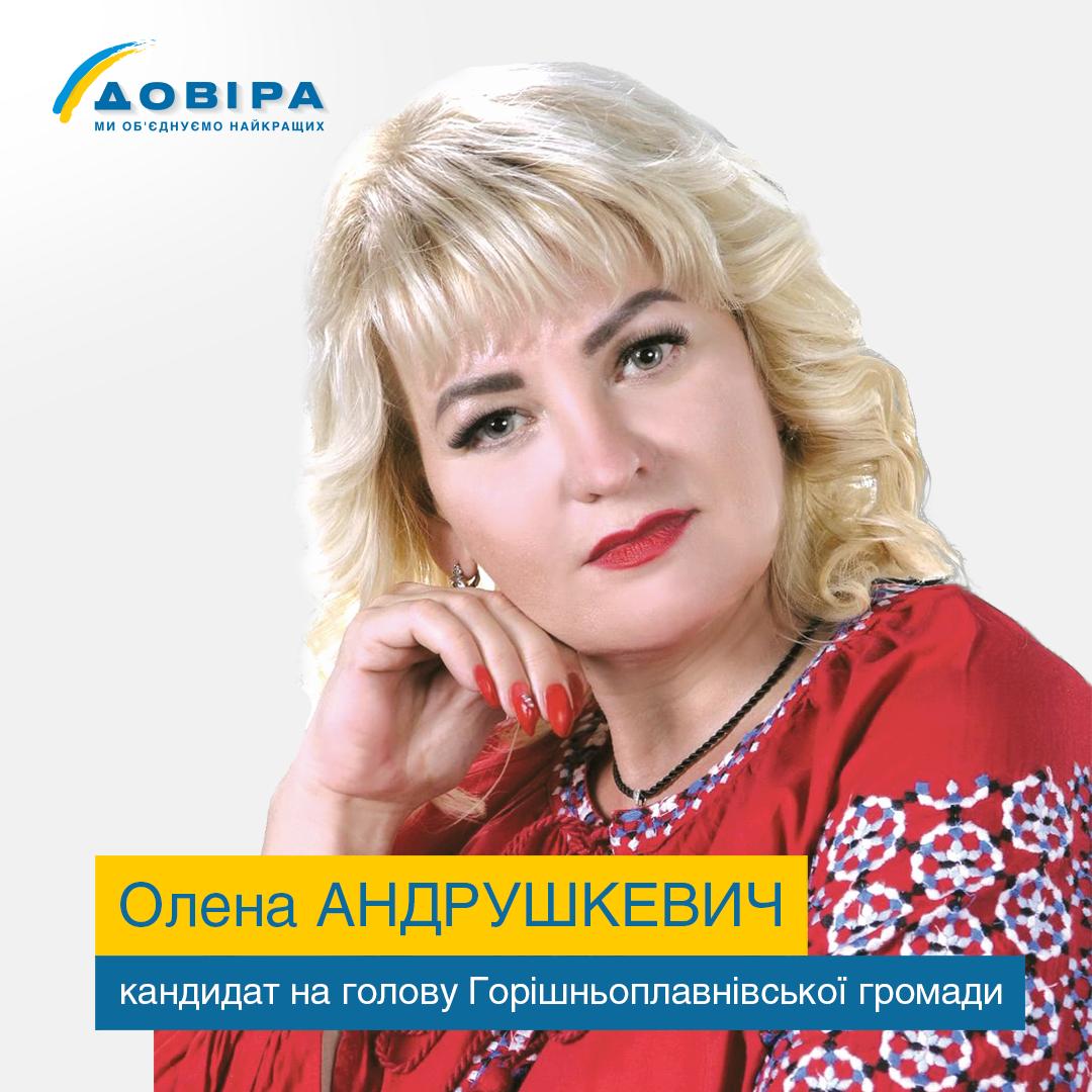 Олена Андрушкевич
