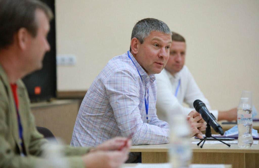 Голова Полтавської обласної організації партії «За Майбутнє» Юрій Шаповалов