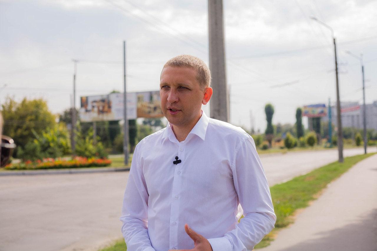 Кандидат на посаду міського голови Кременчука від партії За Майбутнє Віталій Малецький