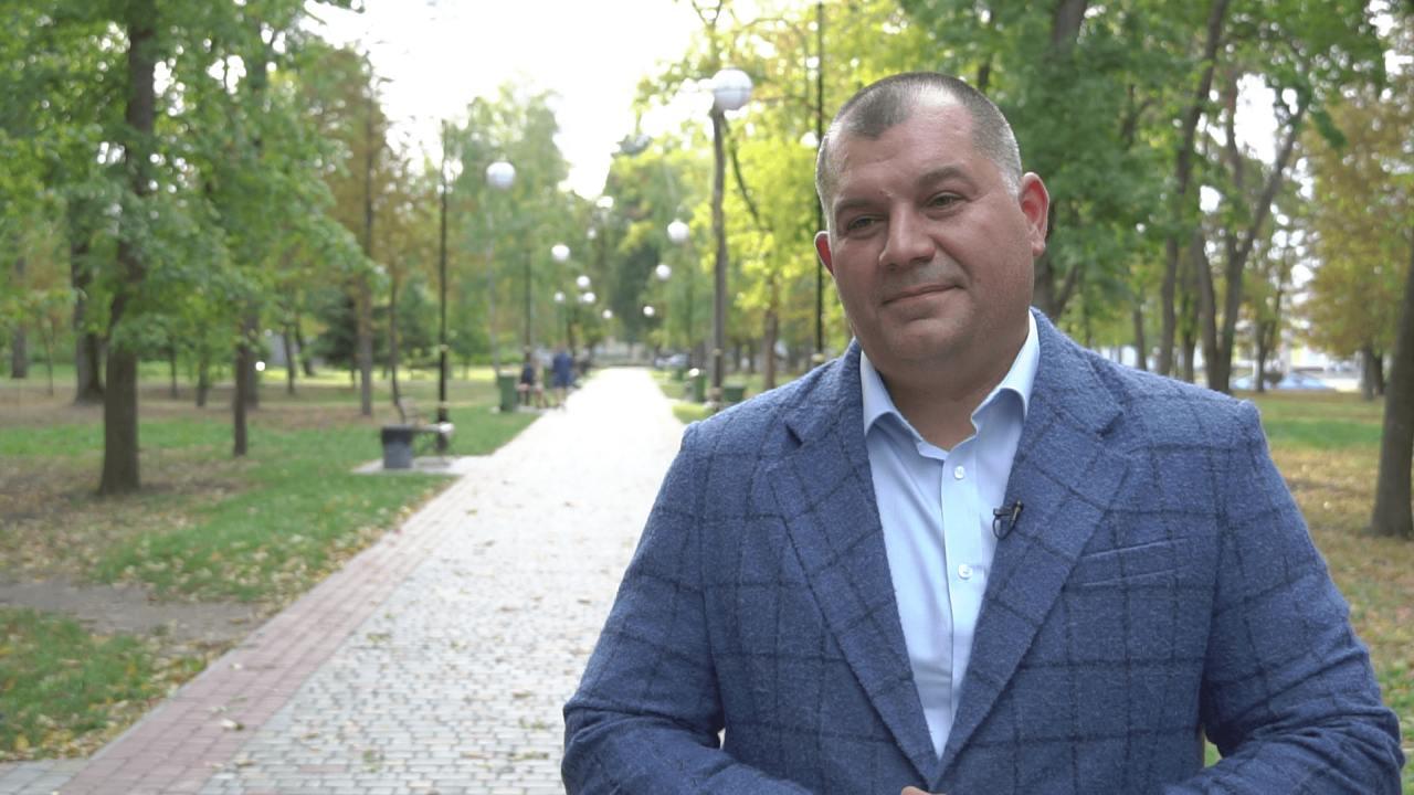 Кандидат у депутати до Полтавської облради «За Майбутнє» Олексій Матюшенко
