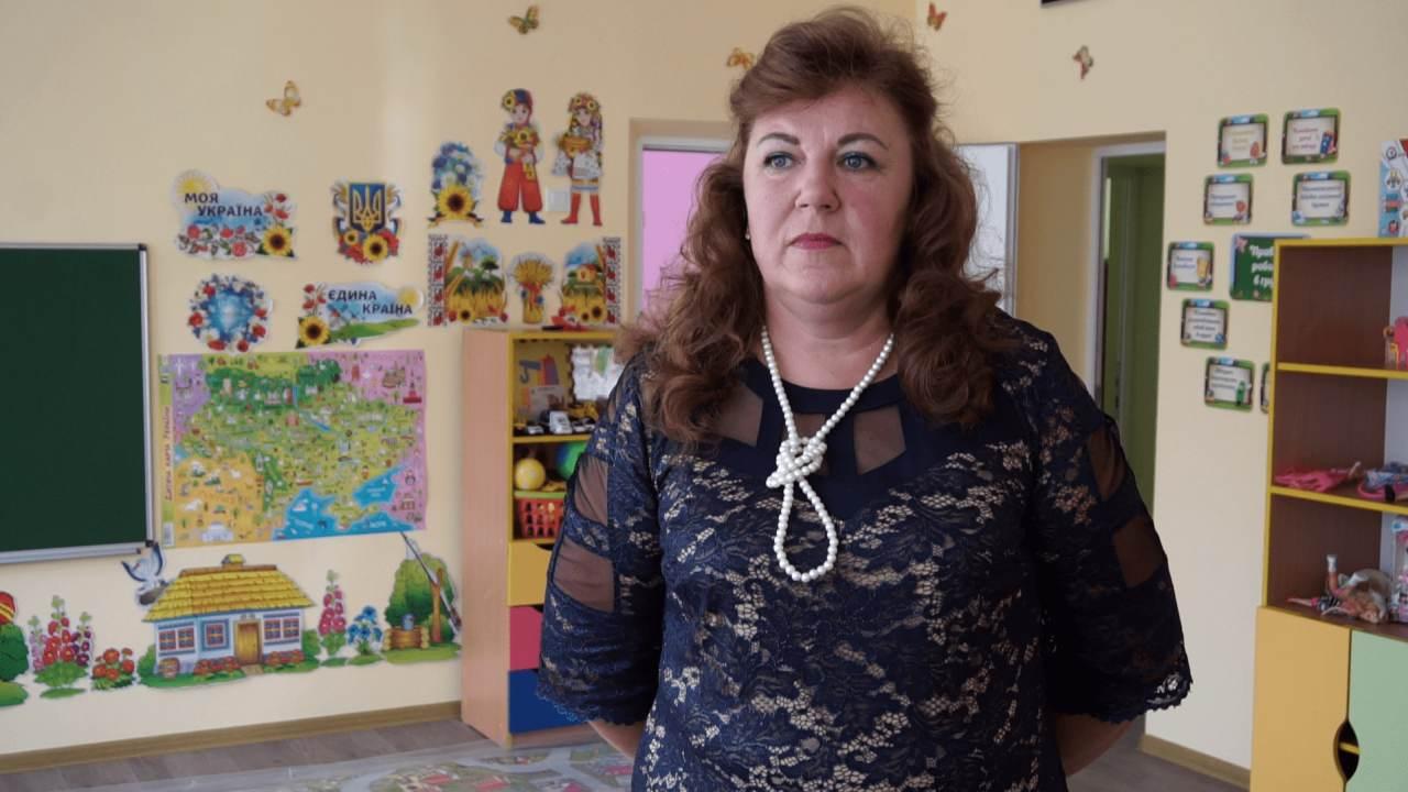 Завідуюча дитсадку «Малятко» Наталя Трисячна