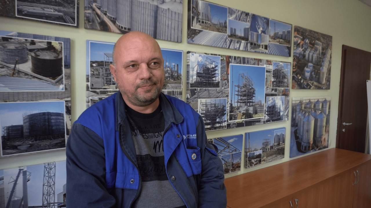 Інженер-будівельник ТОВ «Глобинський переробний завод» Ігор Торяник