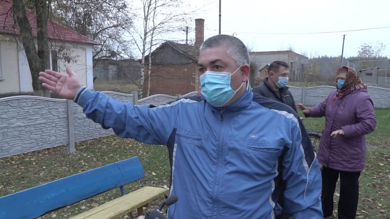 Мешканець села Заворскло Дмитро Годунок