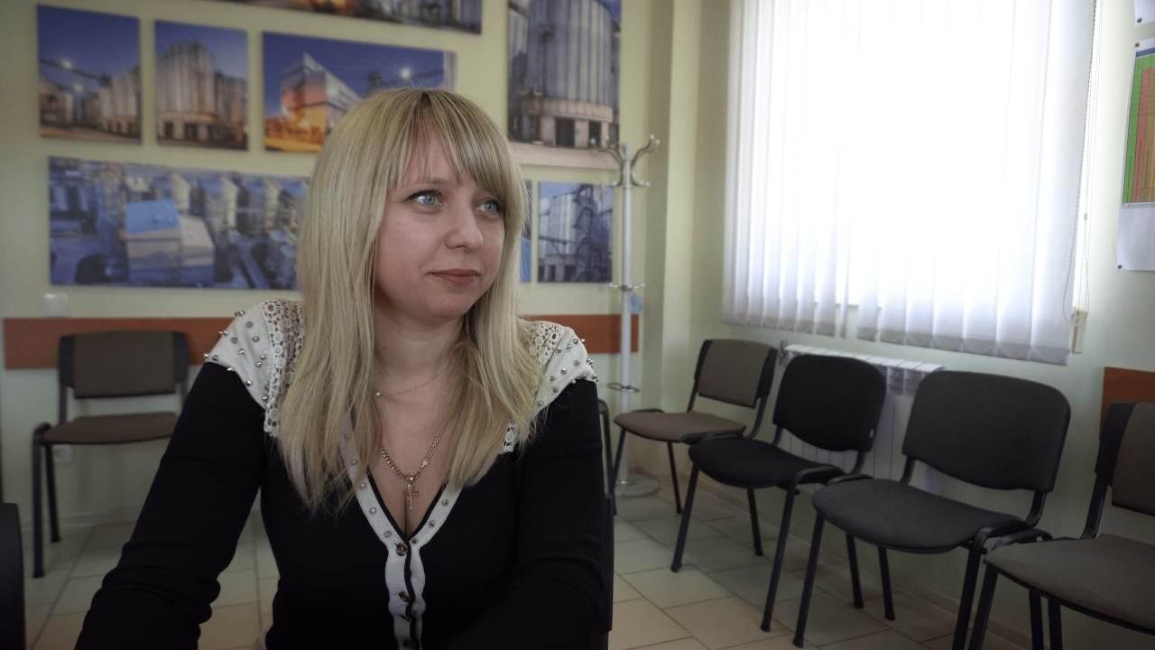 Начальник адміністративно-господарської служби ТОВ «Глобинський переробний завод» Наталія Катинська