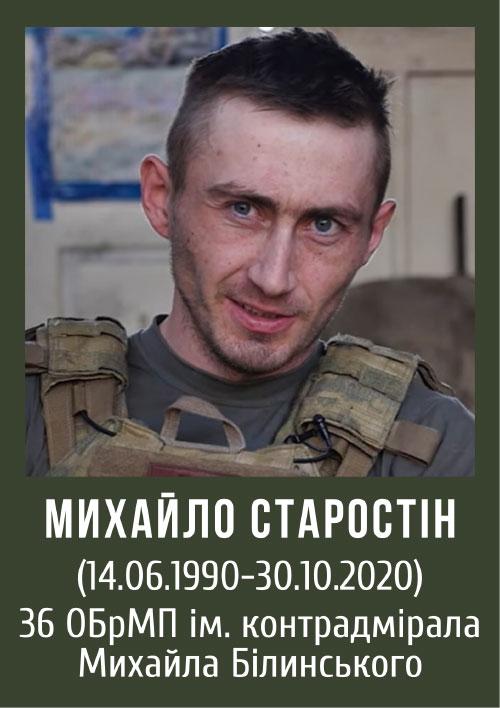 Михайло Старостін