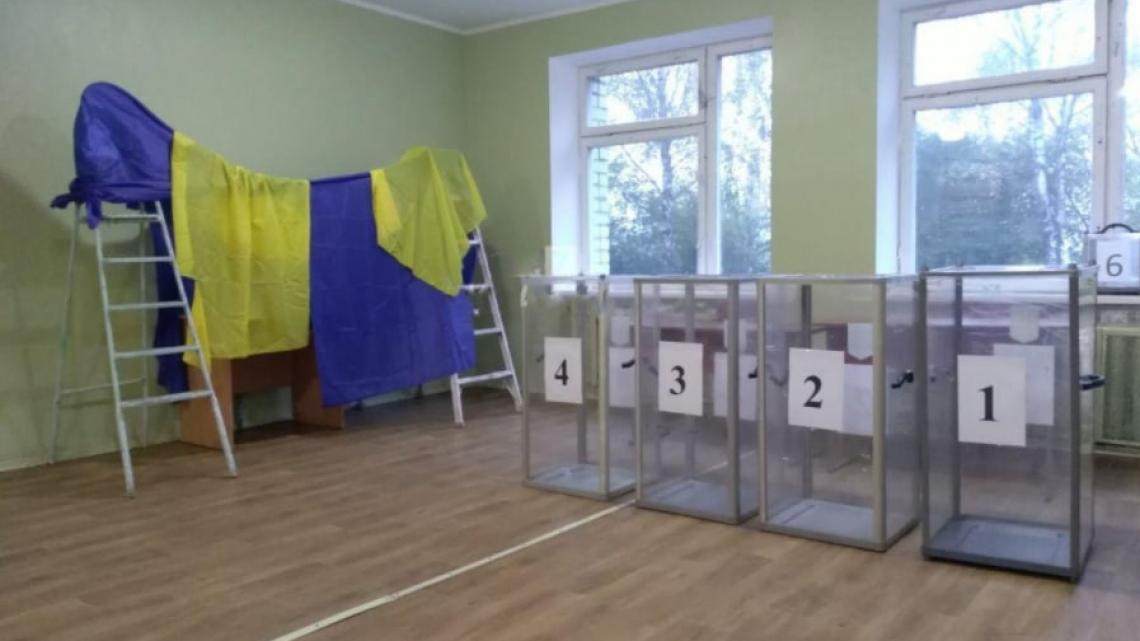 Одна з виборчих дільниць у Житомирі