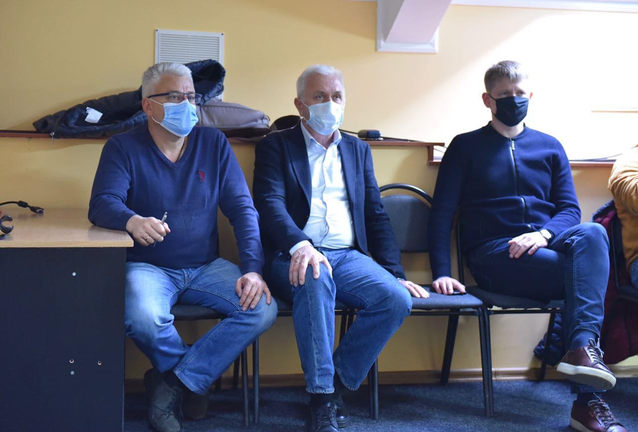 Юрій Бублик, Сергій Іващенко, Юрій Бражник