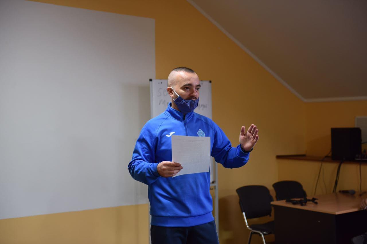 Тарас Лелюх, учасник бойових дій, представник руху ветеранів України.