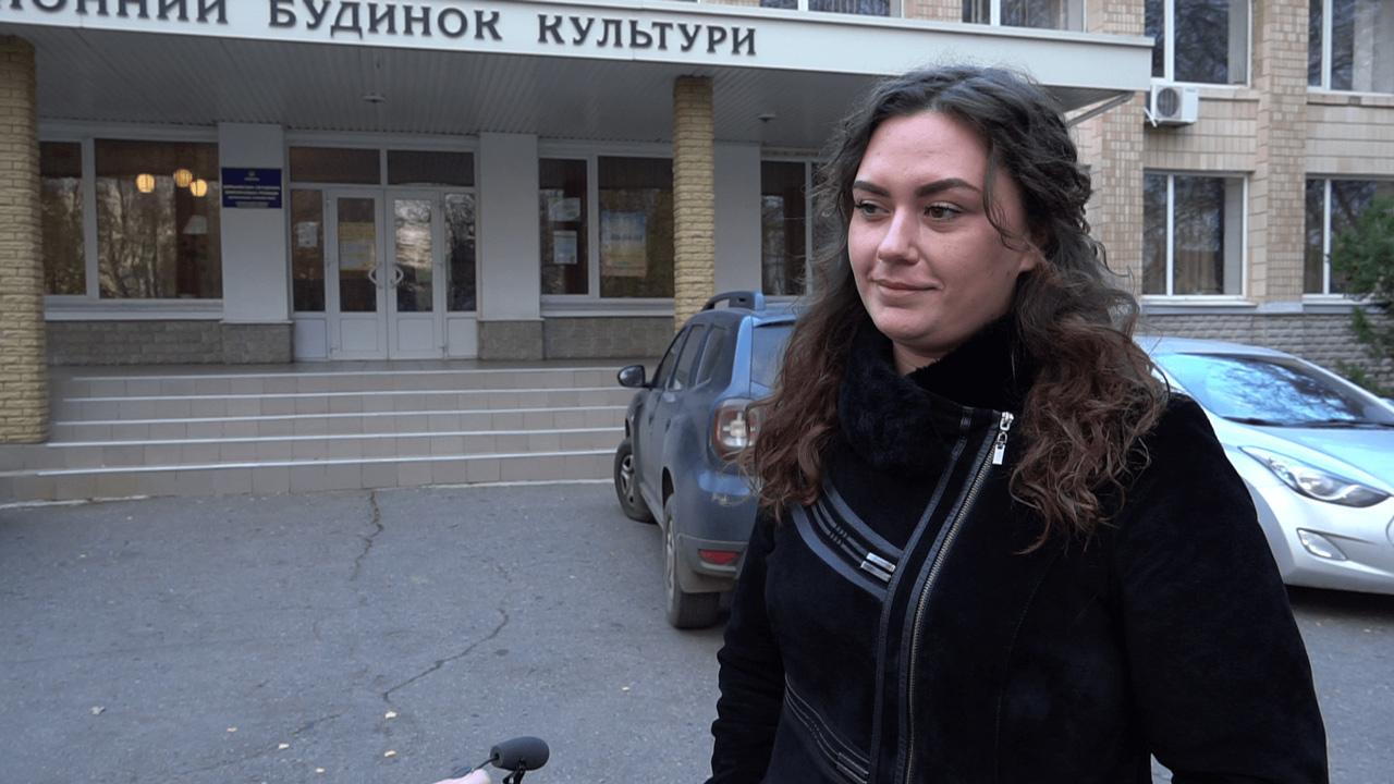 Голова Щербанівської ТВК Анна Клименко
