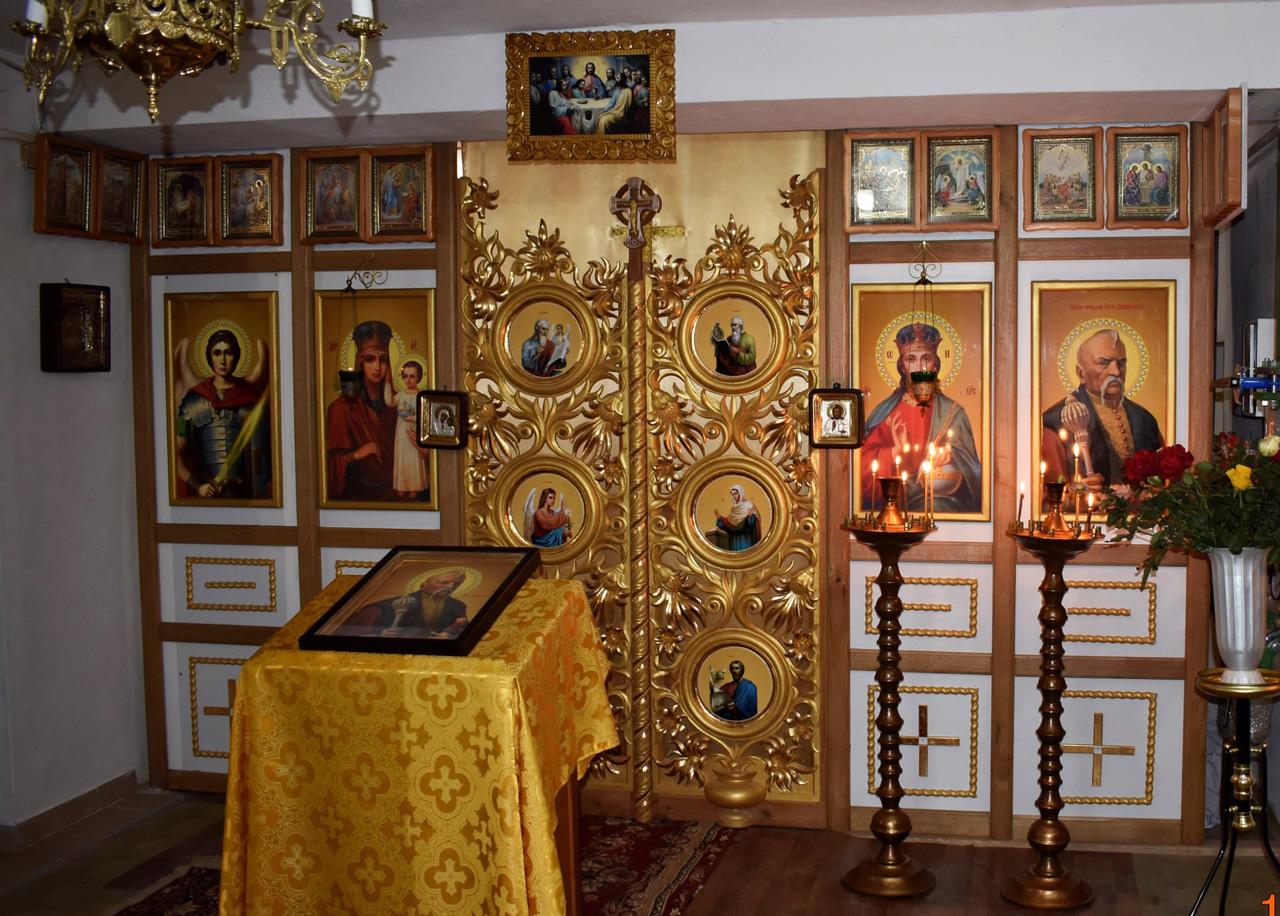Іконостас Храм пам'яті святого праведника Петра Калнишевського