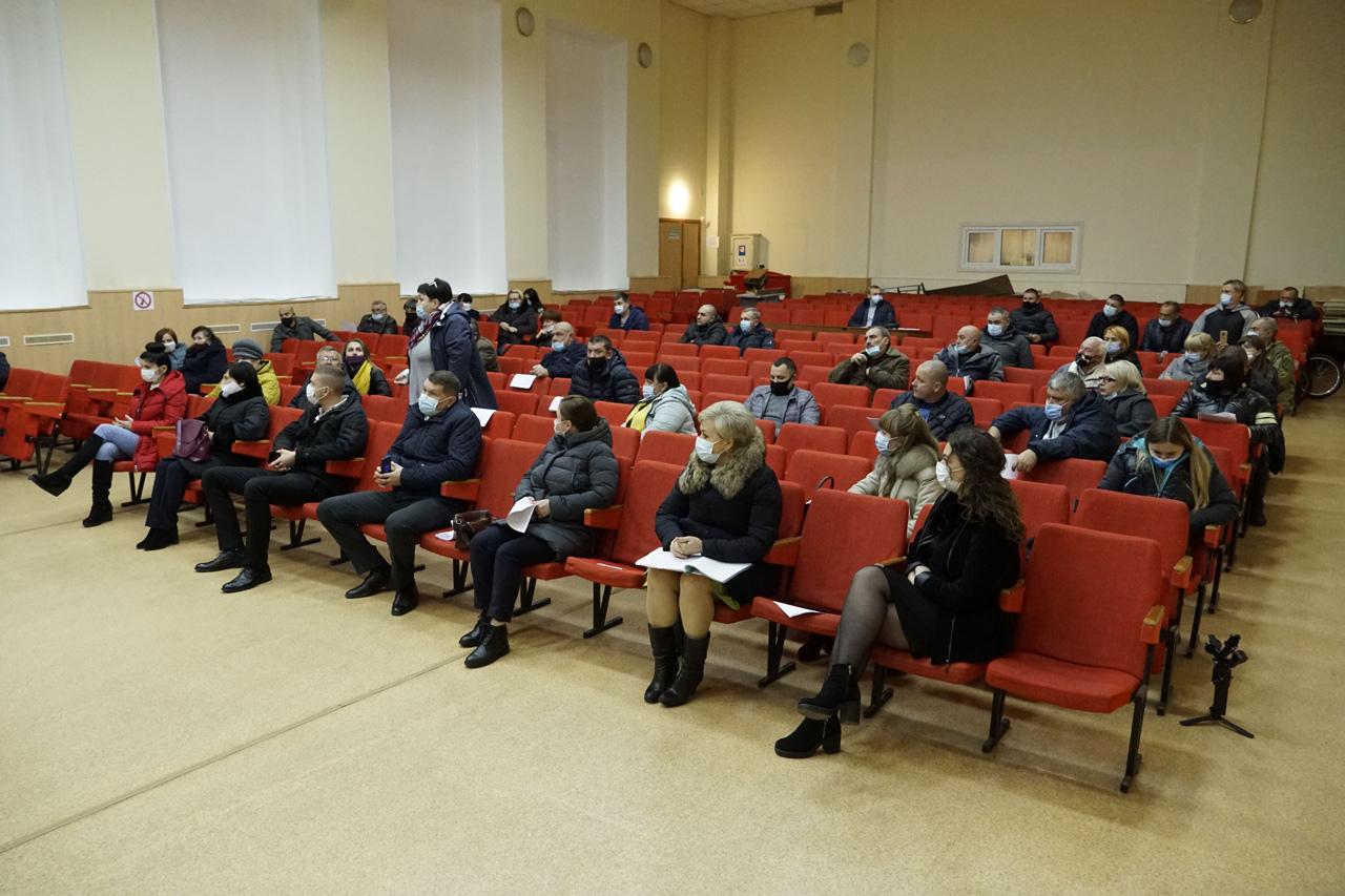 Відбулася перша сесія восьмого скликання Щербанівської сільської ради