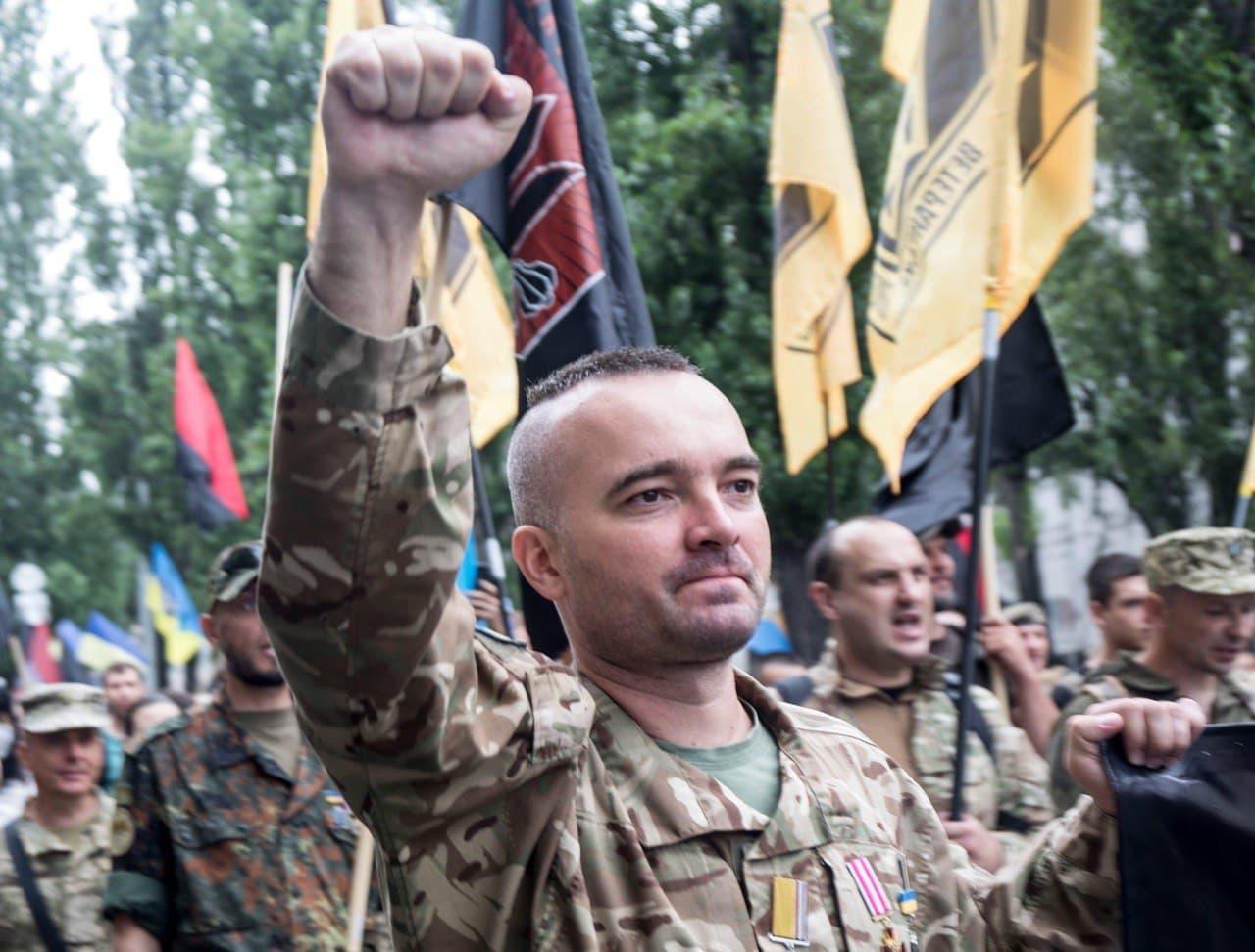 Тарас Лелюх — учасник бойових дій, представник руху ветеранів України