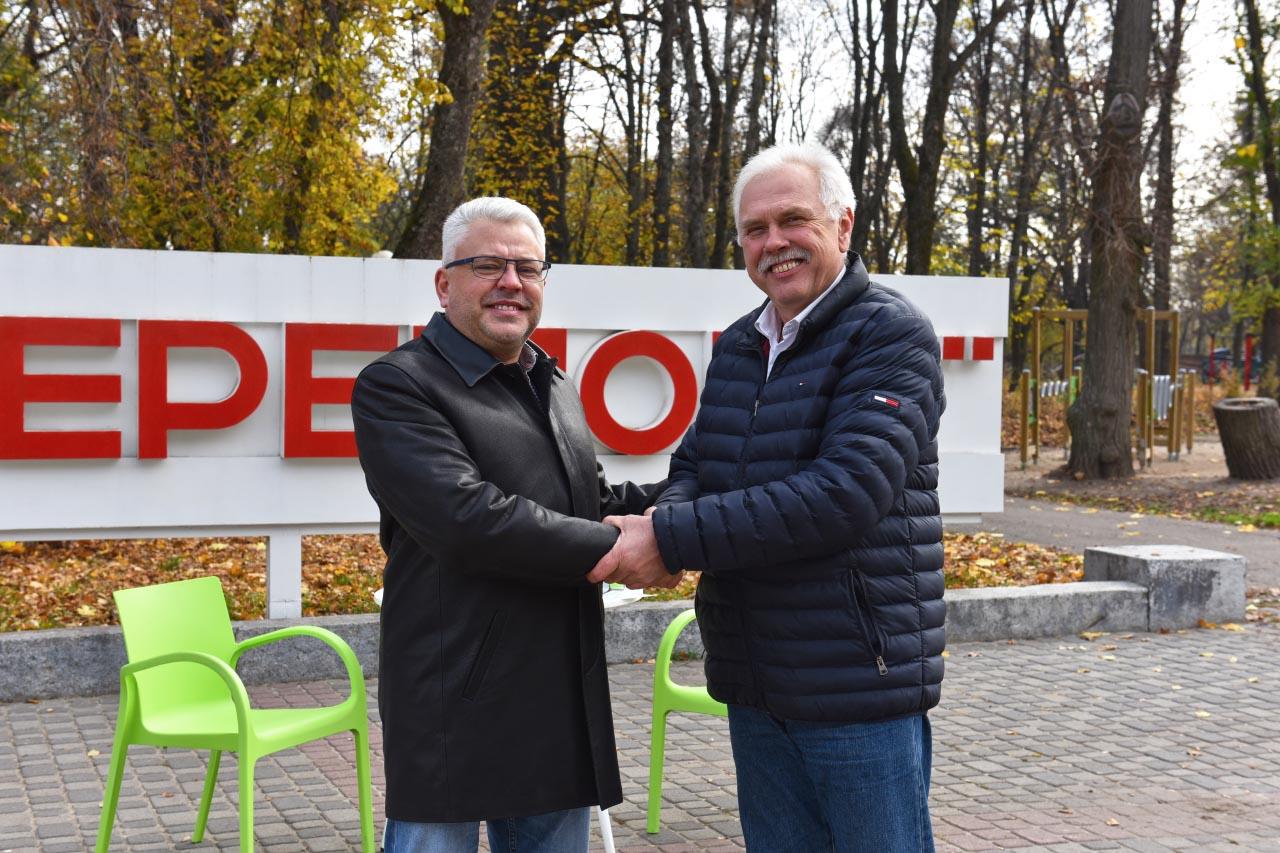 Юрій Бублик підписав меморандум про співпрацю у міськраді з Сергієм Іващенком
