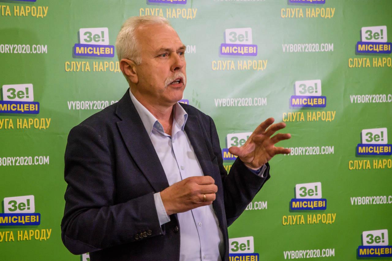 Сергій Іващенко — кандидат на посаду міського голови Полтави