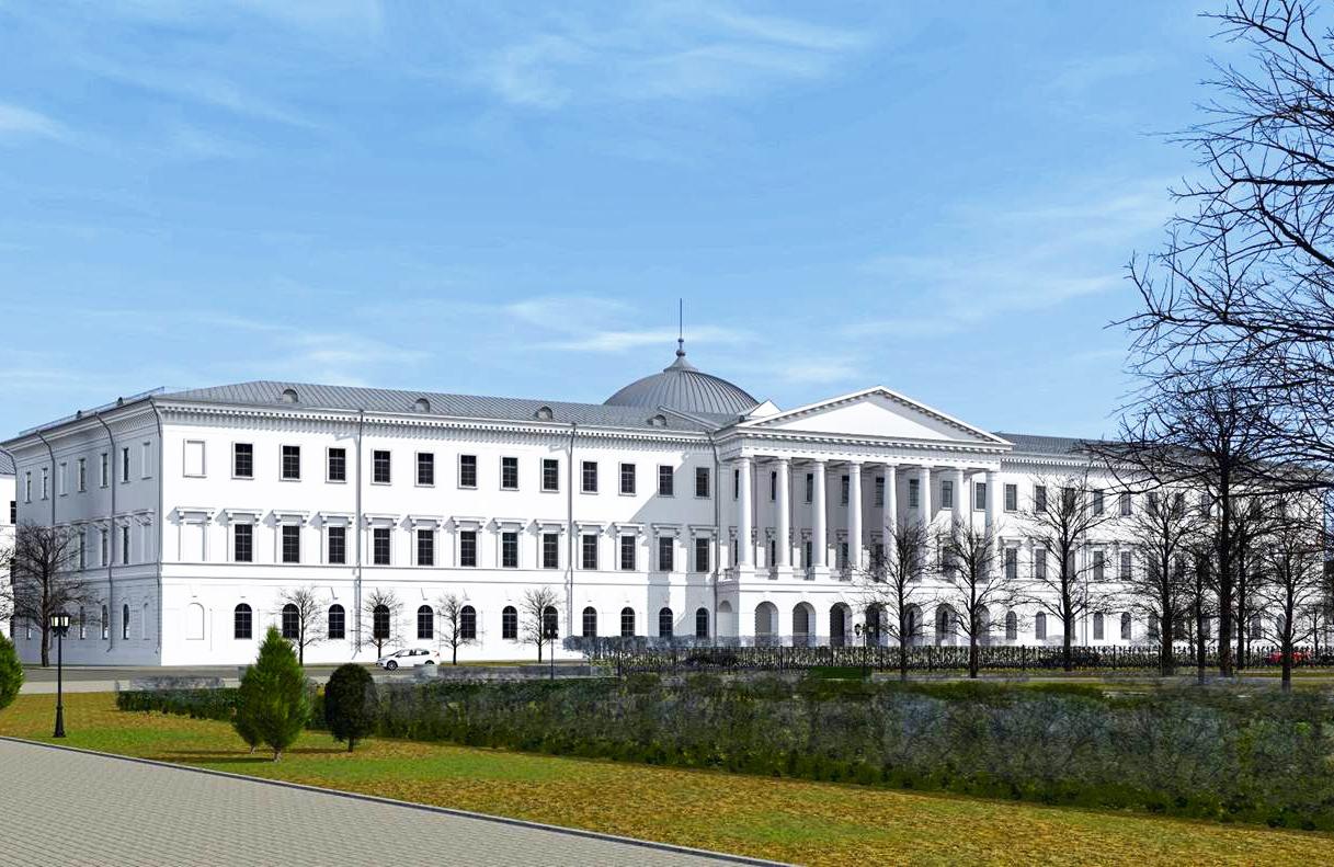 Ескіз проекту реконструкції Кадетського корпусу