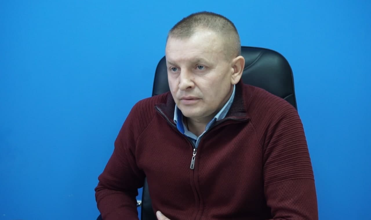 Директор Скороходівського елеватора Ігор Великий