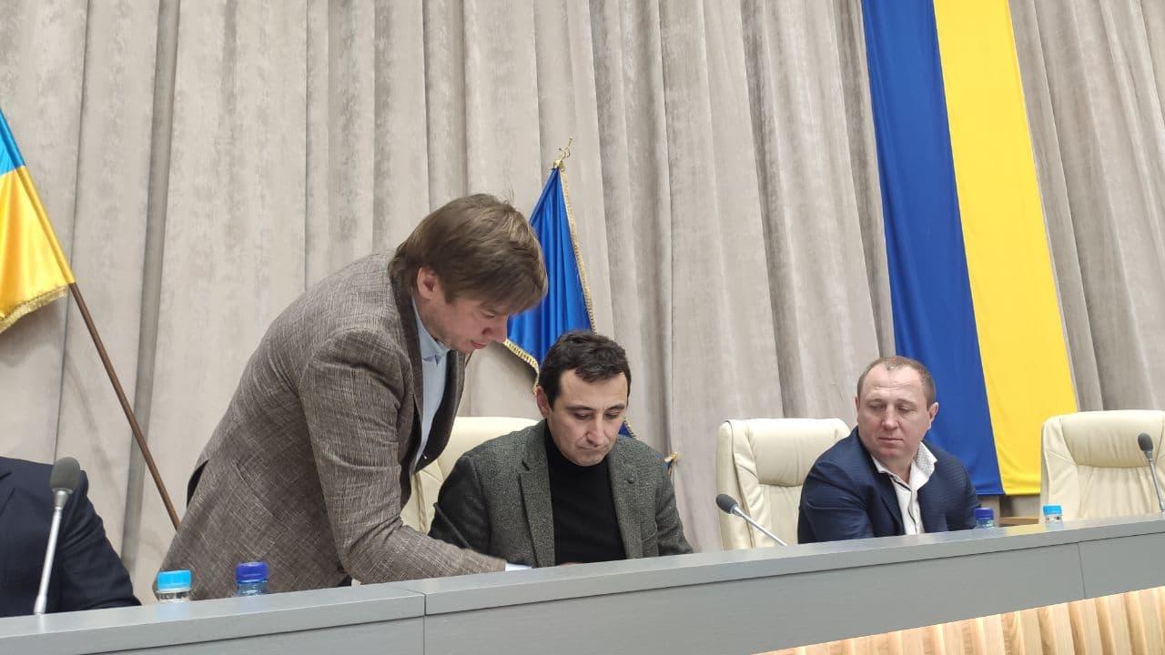 Олександр Біленький, Олександр Лемешко та Олег Сазонов