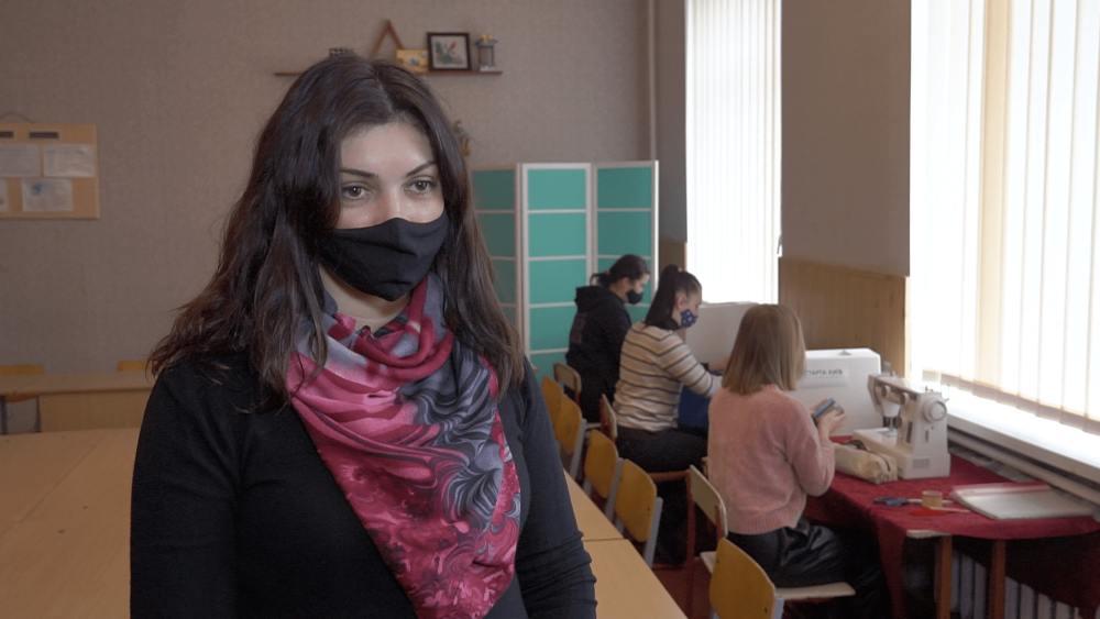 Вчитель трудового навчання Білицької ЗОШ №1 Наталія Каджарова